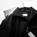 Massimo d'Augusto × cuervo bopoha Linen Cotton BLACK・10 2021SS 【Special Special Special Model】マッシモ ダウグスト × クエルボ ヴァローナ) リネンコットン ワンピースカラー シャツ made in italy (イタリア製) 2021 春夏新作 愛知 名古屋 Alto e Diritto altoediritto アルトエデリット マッシモダウグスト クエルボヴァローナ リネンシャツ コットンシャツ 黒シャツ ブラックシャツ