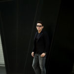 TAGLIATORE (タリアトーレ) PINO LERARIO (ピーノ レラリオ) Cashmere Jacket カシミア ジャケット NERO (ブラック) Made in italy (イタリア製) 2021 秋冬 【ご予約受付中】のイメージ
