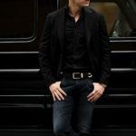 cuervo bopoha (クエルボ ヴァローナ) Sartoria Collection (サルトリア コレクション) Lobb (ロブ) Summer Wool サマーウール ジャケット BLACK (ブラック) MADE IN JAPAN (日本製) 2021 春夏新作のイメージ