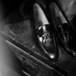 ENZO BONAFE(エンツォボナフェ) ART. EB-07 Tassel Loafer タッセルローファー MUSEUM CALF(ミュージアムカーフ) ドレスシューズ ローファー DARK BROWN (ダークブラウン) made in italy (イタリア製) 2021 秋冬 【ご予約開始】のイメージ