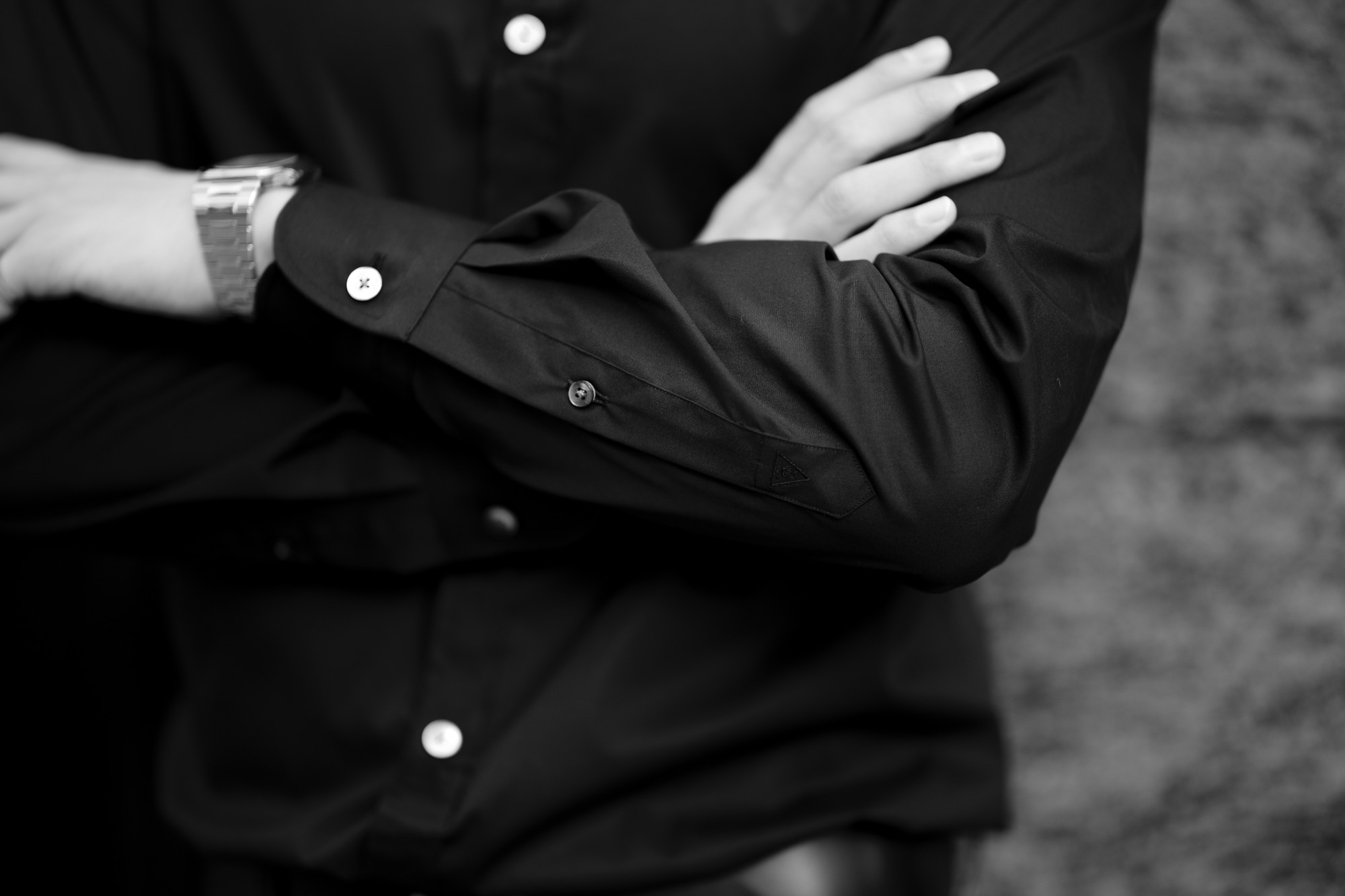 """FIXER """"FST-01"""" フィクサー エフエスティー01 SHIRTS シャツ COTTON STRETCH コットンストレット BLACK ブラック ブラックシャツ 黒シャツ 愛知 名古屋 Alto e Diritto altoediritto アルトエデリット"""