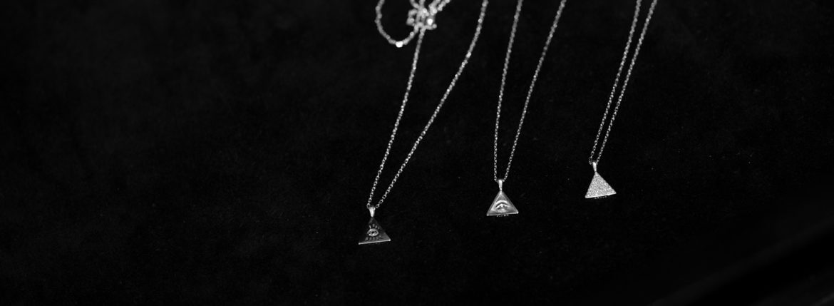 "FIXER ""ILLUMINATI EYES NECKLACE"" 【925 STERLING SILVER】【18K GOLD】のイメージ"