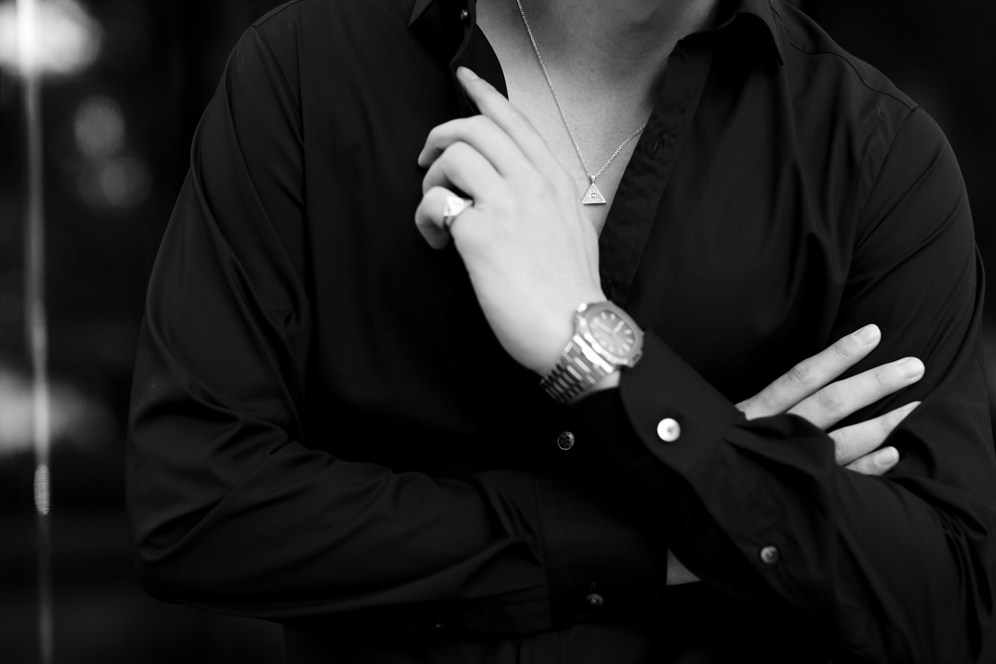 FIXER(フィクサー) ILLUMINATI EYES NECKLACE 925 STERLING SILVER(925 スターリングシルバー) イルミナティ アイズネックレス SILVER(シルバー) 愛知 名古屋 Alto e Diritto altoediritto アルトエデリット ネックレス イルミナティネックレス