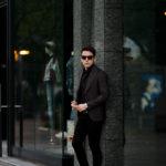 TAGLIATORE (タリアトーレ) PINO LERARIO (ピーノ レラリオ) Summer Wool Jacket サマーウール シングル ピークドラペル ジャケット Made in italy (イタリア製) WINE (ワイン) 2021 春夏新作のイメージ