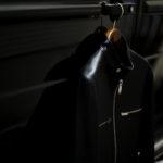 """cuervo bopoha Satisfaction Leather Collection """"MATT"""" クエルボ ヴァローナ サティスファクション レザー コレクション マット シングルライダース レザージャケット ライダースジャケット BLACK ブラック LAMB LEATHER ラムレザー 愛知 名古屋 Alto e Diritto altoediritto アルトエデリット"""