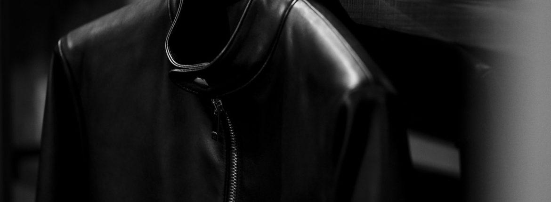"cuervo bopoha Satisfaction Leather Collection ""RICHARD"" LAMB LEATHER BLACK 2021のイメージ"