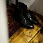 EDWARD GREEN (エドワードグリーン) GALWAY (ゴールウェイ) 82LAST E Lace up boots Black Calf ブラックカーフレザー レースアップブーツ BLACK (ブラック) Made In England (イギリス製) 2021 秋冬新作のイメージ