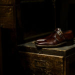 ENZO BONAFE (エンツォボナフェ) ART.3721 Single Monk Strap Shoes シングルモンクストラップシューズ MUSEUM CALF ミュージアムカーフ ドレスシューズ DARK BROWN(ダークブラウン) made in italy (イタリア製) 2021のイメージ
