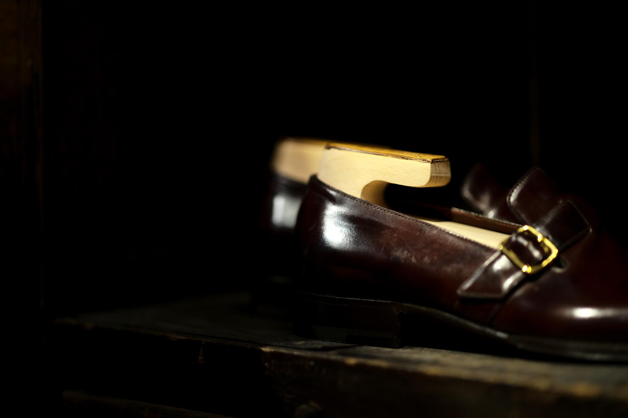 ENZO BONAFE(エンツォボナフェ) ART. EB-44 SLIP ON スリッポン MUSEUM CALF(ミュージアムカーフ) ドレスシューズ スリッポン DARK BROWN (ダークブラウン) made in italy (イタリア製) 2021 愛知 名古屋 Alto e Diritto altoediritto アルトエデリット