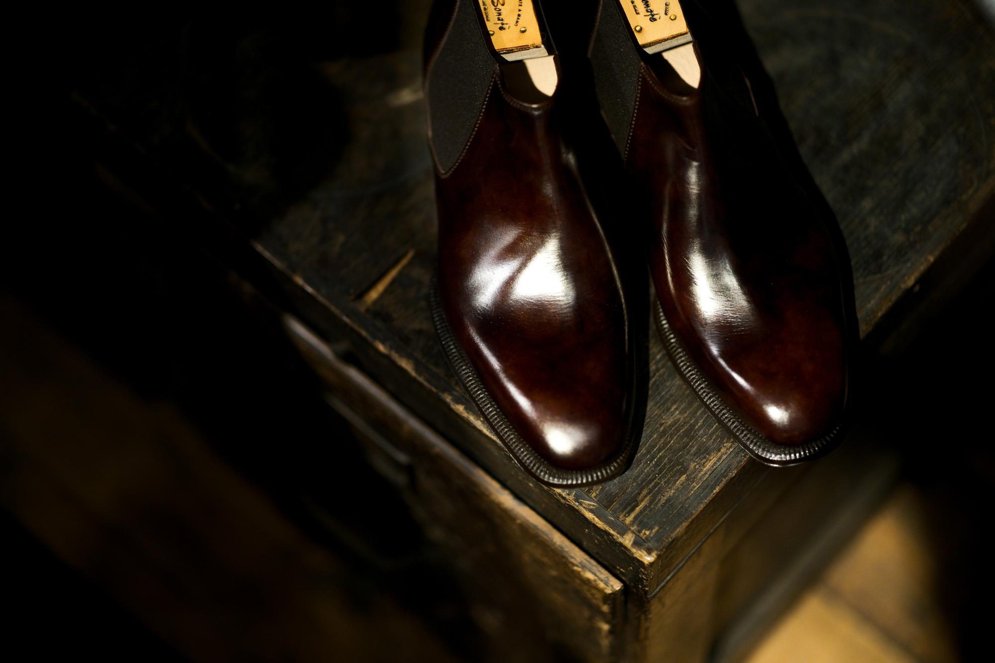 ENZO BONAFE (エンツォボナフェ) CARY GRANT III(ゲーリーグラント3) MUSEUM CALF(ミュージアムカーフ) Side gore Boots サイドゴアブーツ DARK BROWN(ダークブラウン) made in italy (イタリア製) 2021 愛知 名古屋 Alto e Diritto altoediritto アルトエデリット