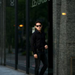 FIXER (フィクサー) FST-01(エフエスティー01) Broad Dress Shirts ストレッチコットン ブロード シャツ BLACK (ブラック) 【SOLD OUT】のイメージ