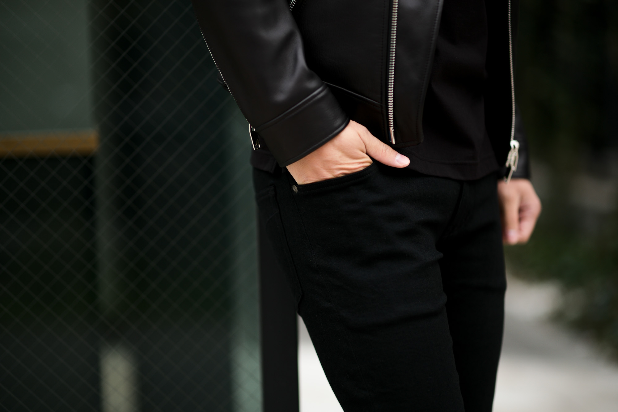 ISAMU KATAYAMA BACKLASH (イサムカタヤマ バックラッシュ) Stretch Skinny Denim Pants ストレッチ スキニー デニム パンツ BLACK (ブラック) MADE IN JAPAN (日本製) 2021 【Special Model】【Alto e Diritto別注】【ご予約開始】愛知 名古屋 Alto e Diritto altoediritto アルトエデリット ブラックデニム 黒デニム