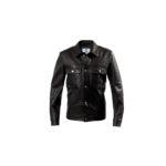 MOLEC (モレック) 3rd type Leather Jacket (3rdタイプ レザー ジャケット) PLONGE Lambskin プロンジェラムレザー サードタイプ レザー トラッカージャケット NERO (ブラック) Made in italy (イタリア製) 2021 【ご予約開始】のイメージ