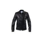 MOLEC (モレック) Single Leather Jacket (シングル レザージャケット) PLONGE Lambskin プロンジェラムレザー シングル ライダース ジャケット NERO (ブラック) Made in italy (イタリア製) 2021 【ご予約開始】のイメージ