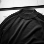 """RIVORA SIDE CABLE Mock Neck Pull-Over """"NAVY・040"""" 2021AWのイメージ"""