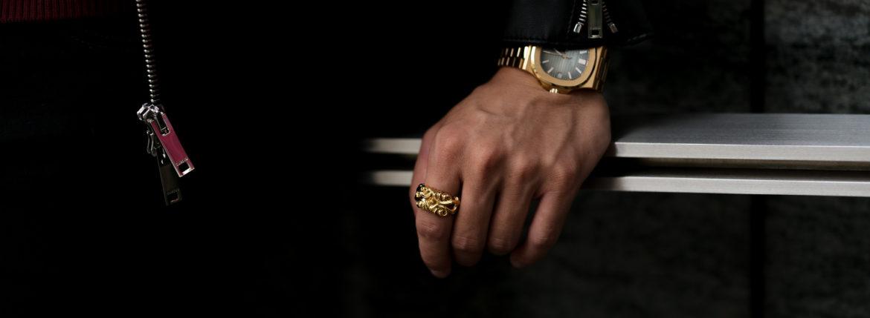 Balvenie Wilhelm (バルヴェニー ヴィルヘルム) VALIANT RING 22K GOLD ヴァリアント リング GOLD (ゴールド) Made In England (イギリス製) 【Special Special Special Model】【ご予約受付中】のイメージ