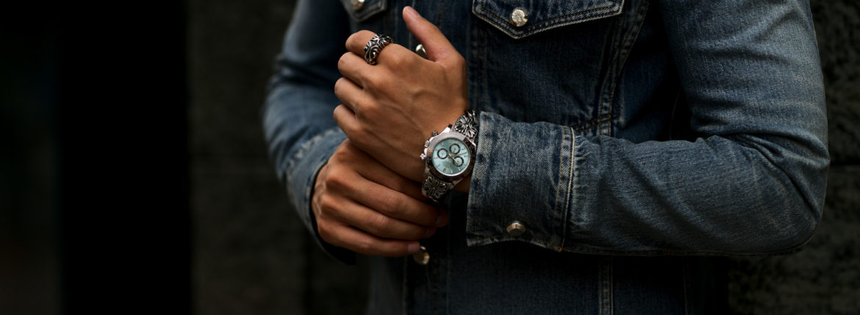 Balvenie Wilhelm (バルヴェニー ヴィルヘルム) Mk.I Watch Bracelet 925 SILVER マークワン ウォッチブレスレット SILVER (シルバー) Made In England (イギリス製) 【Special Model】のイメージ