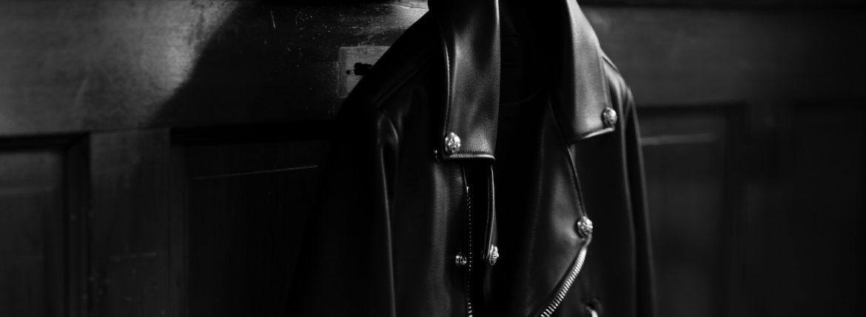 """Balvenie Wilhelm """"No.01"""" DOUBLE RIDERS 925 SILVER【Special Model】バルヴェニー ヴィルヘルム ナンバーゼロワン ダブルライダース 95シルバー スペシャルモデル 愛知 名古屋 Alto e Diritto altoediritto アルトエデリット レザージャケット ライダースジャケット CHROMEHEARTS クロムハーツ レザー"""