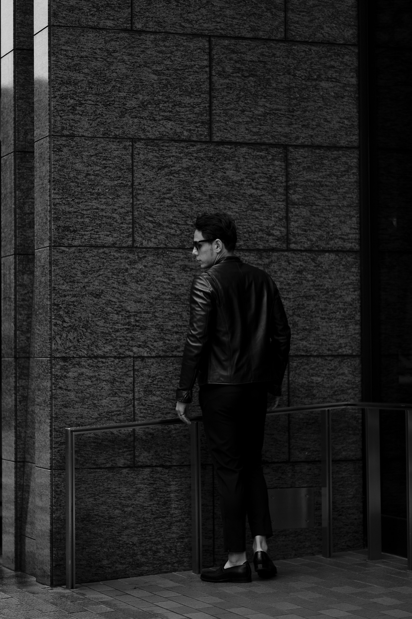 EMMETI KELSO Lambskin Nappa Leather NERO 2022SS【Special Model】エンメティ ケルソ ラムナッパレザー シングルライダース レザージャケット ブラック 2022春夏 スペシャルモデル 愛知 名古屋 Alto e Diritto altoediritto アルトエデリット 別注モデル