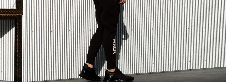 FIXER (フィクサー) FPT-01(エフピーティー01) Technical Jersey Jogger Pants テクニカルジャージー ジョガーパンツ BLACK (ブラック) 【ご予約受付中】【2021.7.19(Sat)~2021.8.08(Sun)】のイメージ