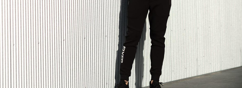FIXER (フィクサー) FPT-01(エフピーティー01) Technical Jersey Jogger Pants テクニカルジャージー ジョガーパンツ BLACK (ブラック) 【ご予約開始】【2021.7.19(Sat)~2021.8.08(Sun)】 愛知 名古屋 Alto e Diritto アルトエデリット ジャージ スウェットパンツ