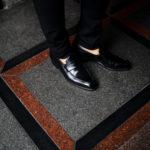 AUBERCY (オーベルシー) LUPIN 3565 Coin Loafer (ルパン) Du Puy Vitello デュプイ社ボックスカーフ ドレスシューズ ローファー NERO (ブラック) made in italy (イタリア製) 2021のイメージ
