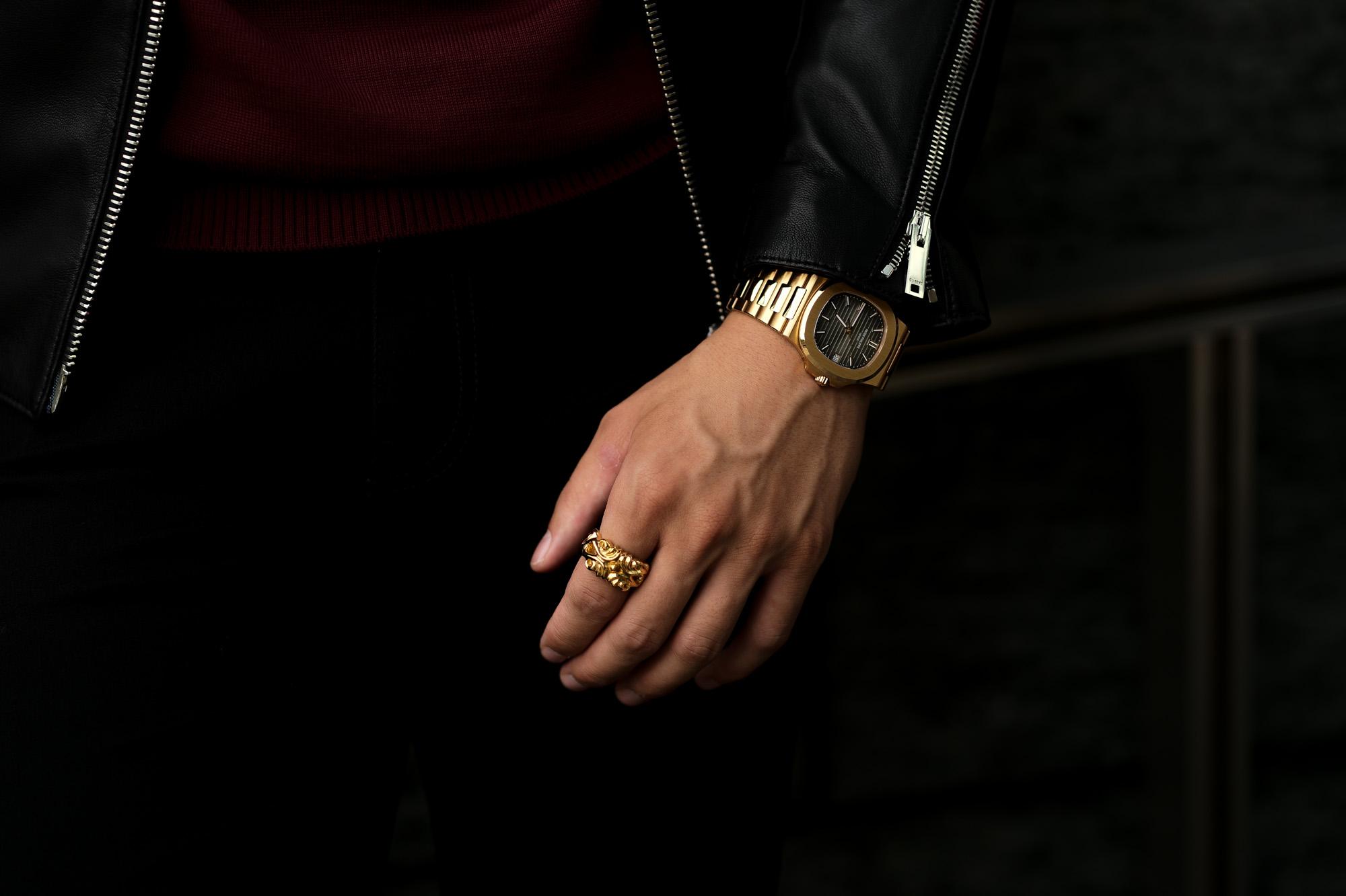 Balvenie Wilhelm (バルヴェニー ヴィルヘルム) VALIANT RING 22K GOLD ヴァリアント リング GOLD (ゴールド) Made In England (イギリス製) 【Special Special Special Model】 愛知 名古屋 Alto e Diritto altoediritto アルトエデリット スペシャルリング ゴールドリング 指輪 RING PATEK PHILIPPE ノーチラス 5711/1R ローズゴールド パテックフィリップ