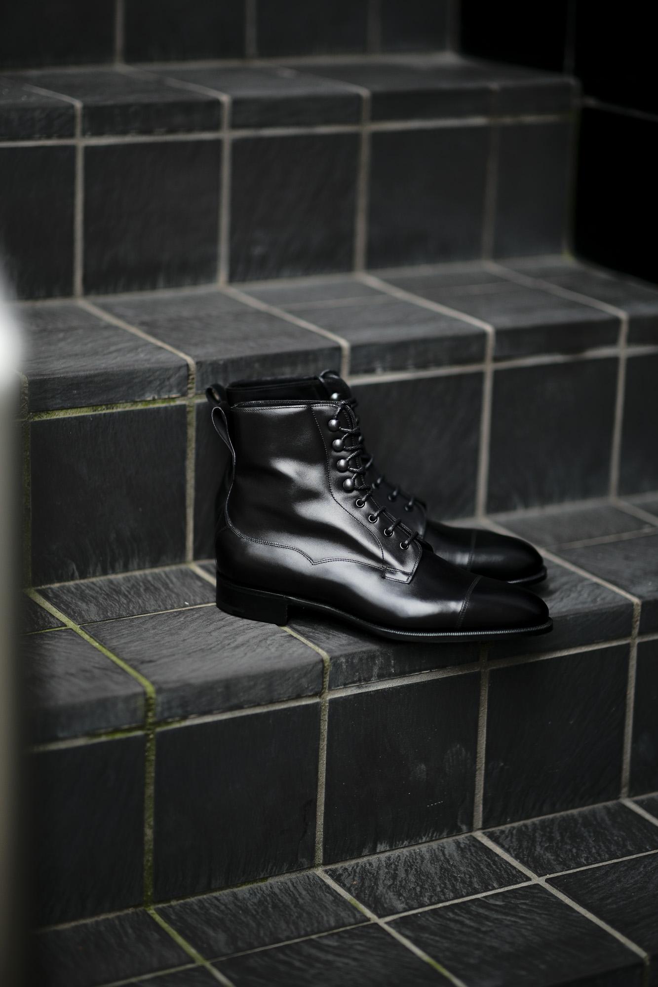 EDWARD GREEN (エドワードグリーン) GALWAY (ゴールウェイ) 82LAST E Lace up boots Black Calf ブラックカーフレザー レースアップブーツ BLACK (ブラック) Made In England (イギリス製) 2021 秋冬 【入荷しました】【フリー分発売開始】愛知 名古屋 Alto e Diritto altoediritto アルトエデリット レザーブーツ