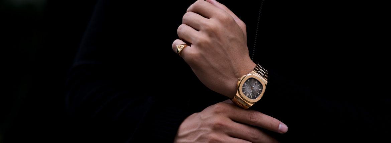 FIXER(フィクサー) ILLUMINATI EYES RING 18K GOLD イルミナティ アイズリング GOLD(ゴールド) 【ご予約開始】【2021.8.09(Mon)~2021.8.22(Sun)】 愛知 名古屋 Alto e Diritto アルトエデリット 18金 リング PATEK PHILIPPE パテックフィリップ ノーチラス 5711 1R ローズゴールド