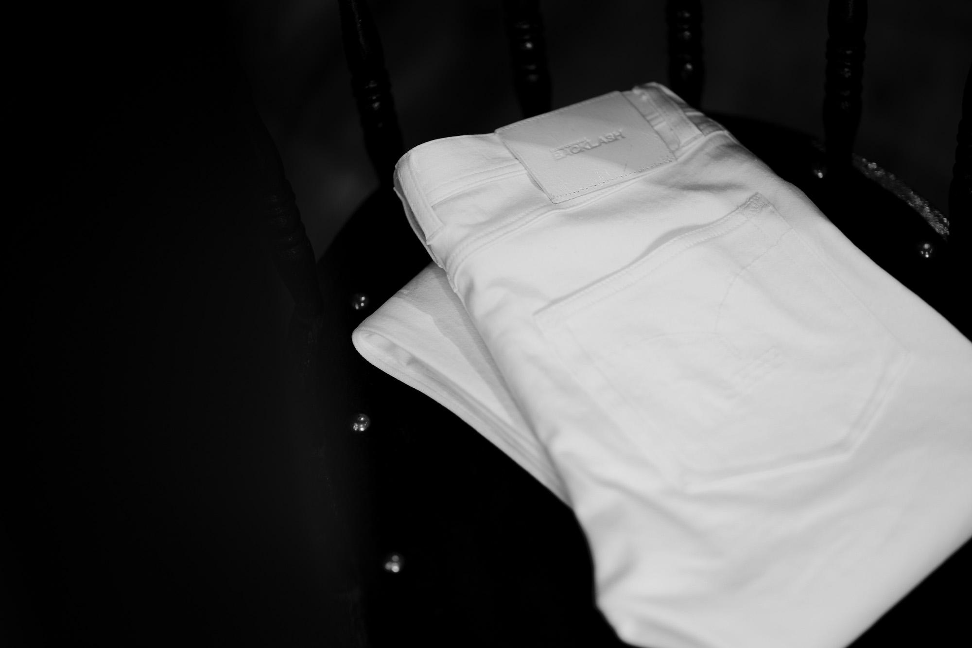"""ISAMU KATAYAMA BACKLASH """"White Denim"""" 2021 【Special Model】【Alto e Diritto別注】イサムカタヤマ バックラッシュ ストレッチ デニムパンツ ホワイトデニム ホワイト ホワイトデニム 白デニム ホワイトデニムパンツ 愛知 名古屋 Alto e Diritto altoediritto アルトエデリット"""