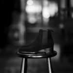 WH (ダブルエイチ) WH-6900S Elvis Last (エルヴィス ラスト) オペラ社 ロンドン スエードレザー サイドゴア ブーツ BLACK SUEDE (ブラック スエード) MADE IN JAPAN (日本製) 2021 秋冬 【ご予約受付中】のイメージ