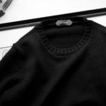 ZANONE(ザノーネ) Crew Neck Sweater (クルーネック セーター) VIRGIN WOOL 100% ミドルゲージ ウールニット セーター BLACK (ブラック・Z0015) made in italy (イタリア製) 2021 秋冬新作 【入荷しました】【フリー分発売開始】のイメージ