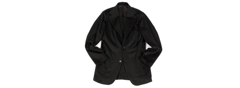 Finjack (フィンジャック) Cashmere 2B Jacket ヌーヴォラライン カシミヤ ジャケット BLACK (ブラック) Made in italy (イタリア製) 2021 秋冬新作 【入荷しました】【フリー分発売開始】のイメージ