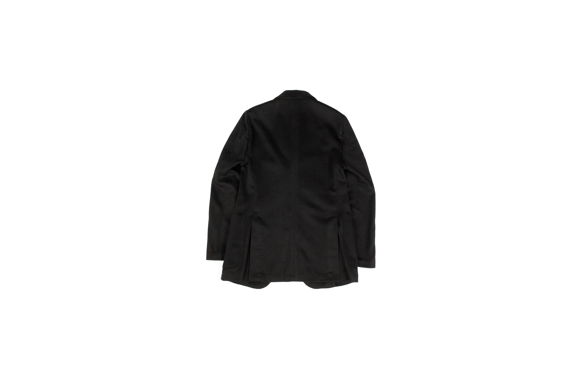 Finjack (フィンジャック) Cashmere 2B Jacket ヌーヴォラライン カシミヤ ジャケット BLACK (ブラック) Made in italy (イタリア製) 2021 秋冬新作 愛知 名古屋 Alto e Diritto altoediritto アルトエデリット カシミアジャケット カシミヤジャケット