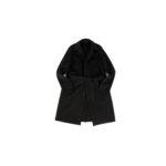 Finjack (フィンジャック) Cashmere Double Face Belted coat カシミア ダブルフェイス ベルテッド バルカラー コート BLACK (ブラック) MADE IN JAPAN (日本製) 2021 秋冬新作 【入荷しました】【フリー分発売開始】のイメージ