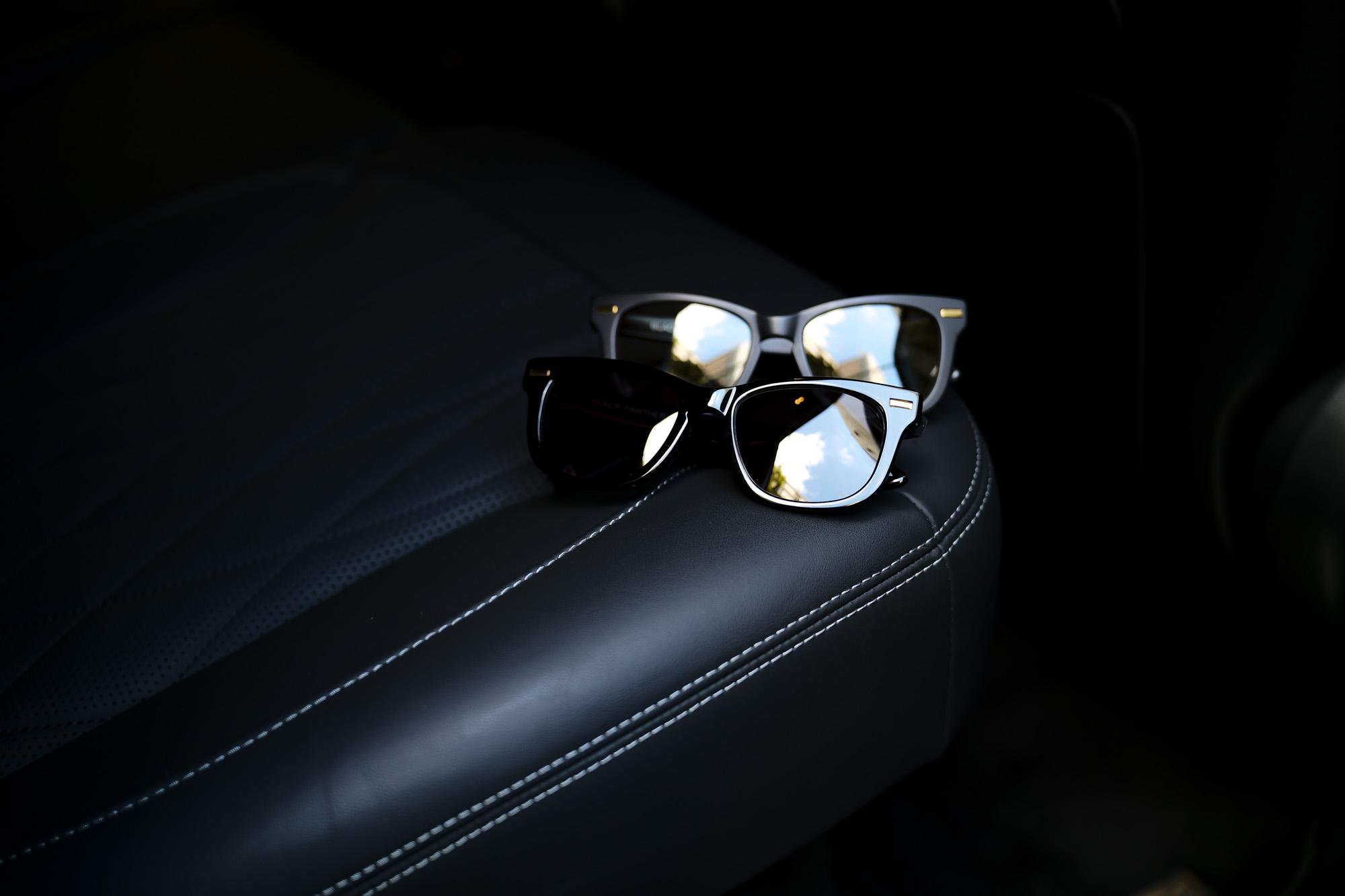 FIXER(フィクサー) BLACK PANTHER(ブラックパンサー) 18K GOLD サングラス BLACK × BLACK SMOKE (ブラック×ブラックスモーク),BLACK × LIGHT GRAY (ブラック×ライトグレー) 【Special Model】【ご予約開始】【2021.9.06(Mon)~2021.9.20(Mon)】 愛知 名古屋 Alto e Diritto アルトエデリット 眼鏡 グラサン 18Kゴールド スペシャルモデル sunglasses