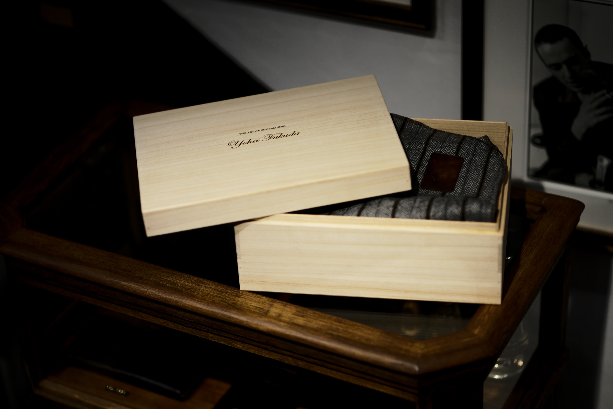 "Yohei Fukuda ""MTO"" Single Monk Strap Shoes Black Suede 2021 ヨウヘイフクダ シングルモンク ストラップシューズ ブラックスエード ドレスシューズ 愛知 名古屋 Alto e Diritto altoediritto アルトエデリット Chisel Toe Half Rubber Rubber Heel"