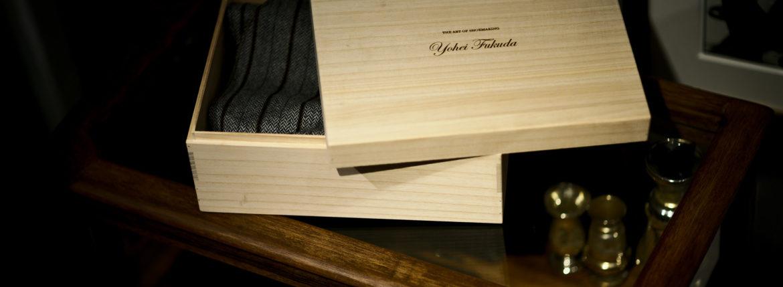 "Yohei Fukuda ""MTO"" Split Toe Derby Shoes New Grain Brown 2021 ヨウヘイフクダ スプリットトゥーダービーシューズ ドレスシューズ 愛知 名古屋 Alto e Diritto altoediritto アルトエデリット Half Rubber Round Toe High Shine シューツリー"