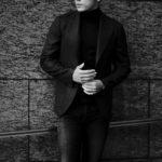 "cuervo bopoha Gaudí DORMEUIL ""VICUNA"" BLACK × BROWN 2021 AW 【Special Model】のイメージ"