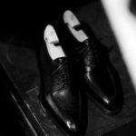 """Yohei Fukuda """"MTO"""" Split Toe Derby Shoes Black Big Grain 2021のイメージ"""