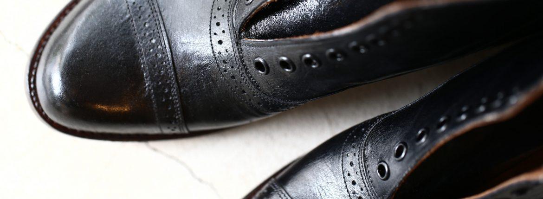 JULIAN BOOTS (ジュリアンブーツ) Jeweler ジュエラー Kangaroo Leather カンガルーレザー Dワイズ レザーブーツ ドレスブーツ BLACK (ブラック) Made in USA (アメリカ製) 2017 秋冬新作